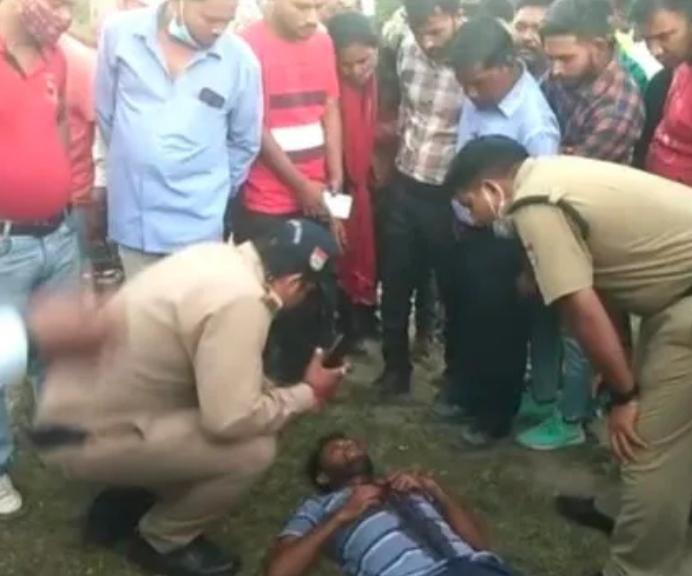 हरिद्वार: सिडकुल में युवक ने बीच सड़क गला काट कर किया आत्महत्या का प्रयास